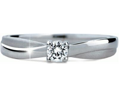 Něžný zásnubní prsten DF1906b
