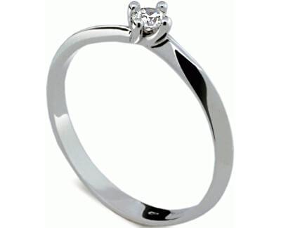 Danfil Jemný zásnubní prsten s diamantem DF1907b