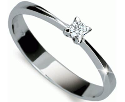 Decentní zásnubní prsten DF1958b