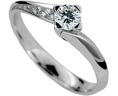 Luxusní zásnubní prsten DF2101b