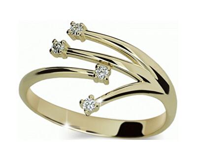 Danfil Inel din aur cu diamante DF2063z
