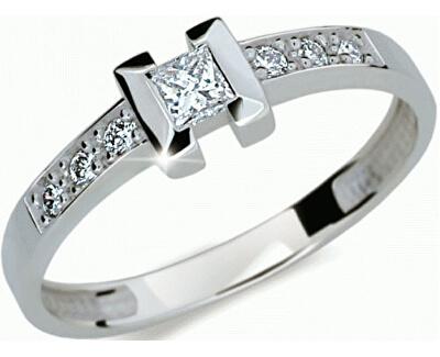 Luxusní zásnubní prsten DLR2062b