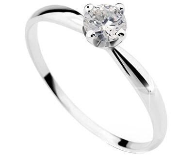 Luxusní zásnubní prsten DLR2365b