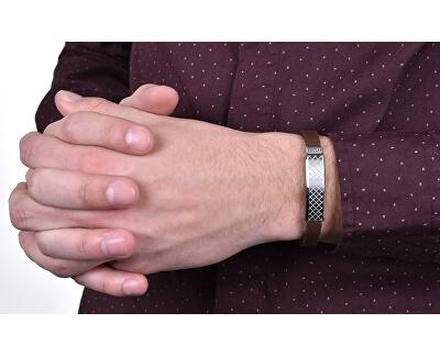 Brățară din piele pentru bărbați DCBR50150100
