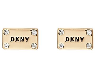 Pozlacené náušnice Plackard New York 5520020