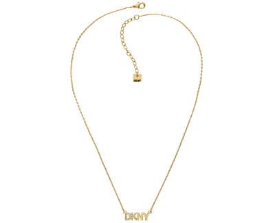 Pozlacený náhrdelník s logem 5519995