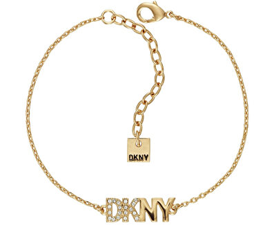 Pozlacený náramek s logem Pendant New York 5519998