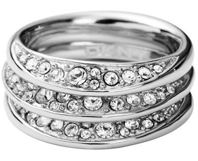 DKNY Prsten s krystaly NJ1853040
