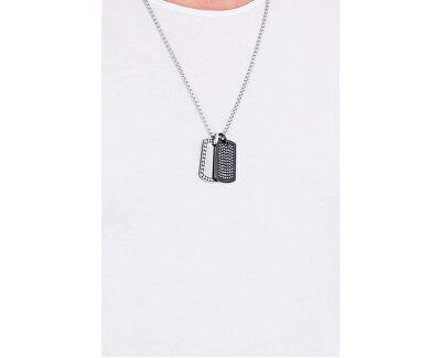 Pánsky náhrdelník s kryštálmi DX1169040
