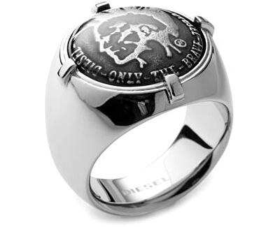 Diesel Ocelový prsten DX0742040