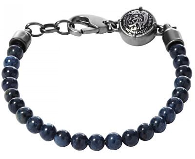 Diesel Brățară cu perle pentru bărbați DX0877060