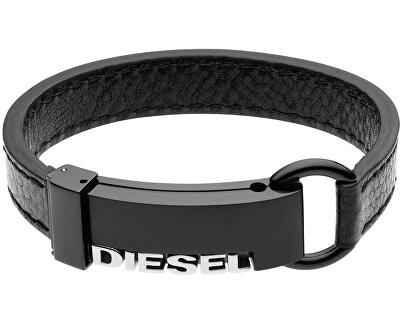 Diesel Brățară din piele DX0002040 pentru bărbați