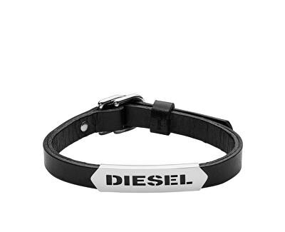Diesel Pánsky kožený náramok DX0999040