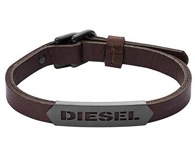 Diesel Brățară din piele pentru bărbați DX1000060