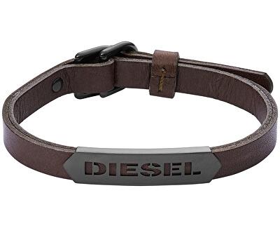 Diesel Brățară din piele pentru bărbați DX1001001