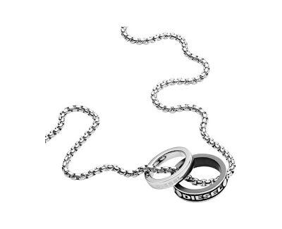 Pánsky náhrdelník s príveskami DX1168040