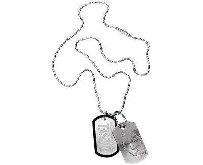 Pánský ocelový náhrdelník psí známky DX0202040