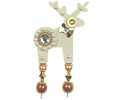 Deers Malý béžovo-zlatý Jelínek Arniela