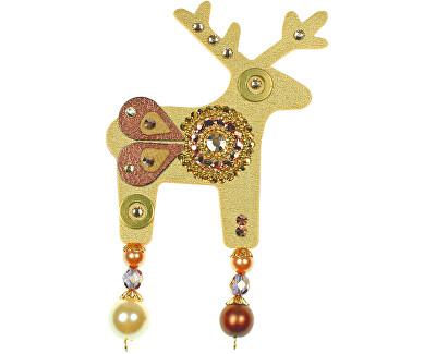 Deers Cerb mare auriu Confetti