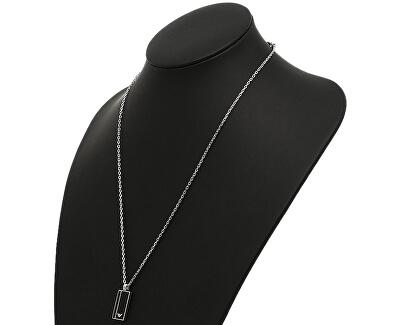 Pánský ocelový náhrdelník s přívěskem EGS2031040