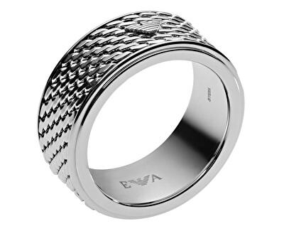 Emporio Armani Štýlový pánsky prsteň EGS2142040