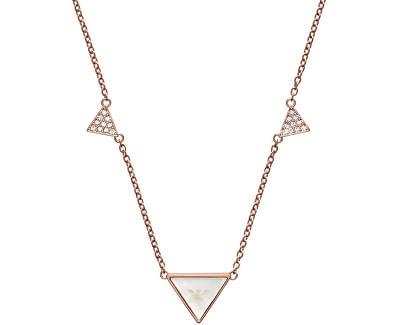 Emporio Armani Luxusní bronzový náhrdelník EGS2368221