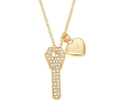 Emporio Armani Colier placat cu aur cu cheie EGS2201710