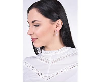 Romantické perličkové náušnice Rosaline Pearls 31151.3