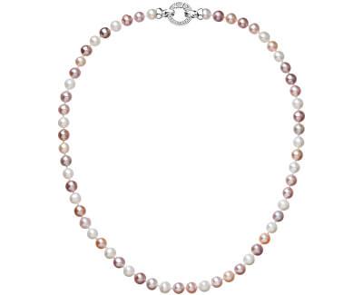 Barevný perlový náhrdelník Pavona 22004.3 A