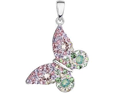 Romantický prívesok Motýľ Sakura 34192.3