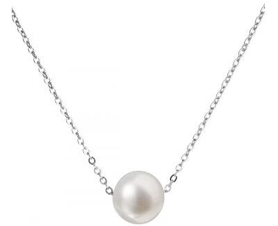 Stříbrný náhrdelník s pravou perlou Pavona 22023.1