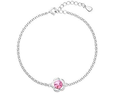 Brățară din argint cu cristal Swarovski 33117.3 Rose
