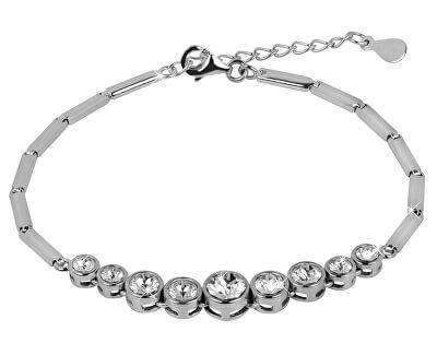 Stříbrný náramek s krystaly Swarovski 33111.1