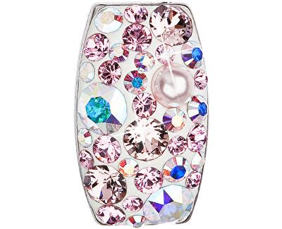 Stříbrný přívěsek s krystaly 34194.9 lt.rose AB