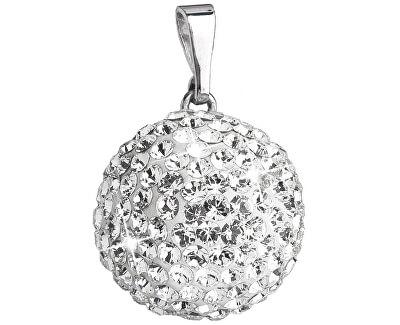 Stříbrný přívěsek s krystaly Swarovski 34081.1