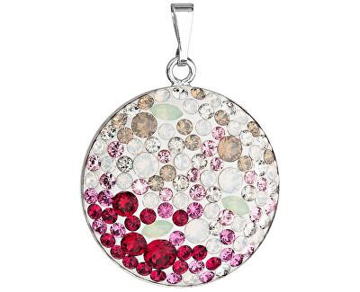 Stříbrný přívěsek s krystaly Swarovski 34131.3 Sweet love