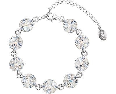 Brățară strălucitoare din argint 33048.3 Light Sapphire