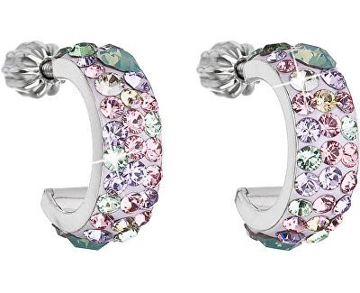 Evolution Group Stylové náušnice s krystaly Sakura 31118.3