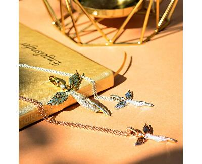 Stříbrný náhrdelník Anděl ERN-LILANGEL