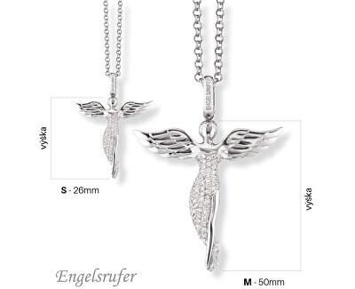 Pandantiv argint cu zirconi ERP-ANGEL