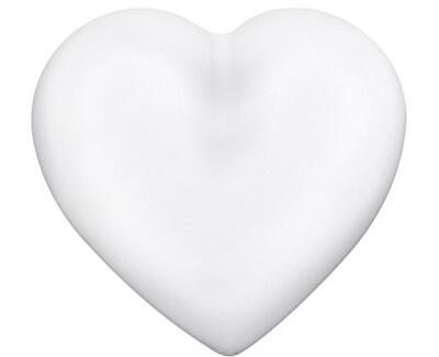 Bílá rolnička Srdce ERS-01-HEART-L