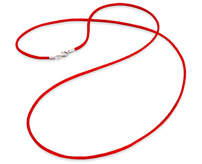 Červená saténová šňůrka ERN-60-SI-05