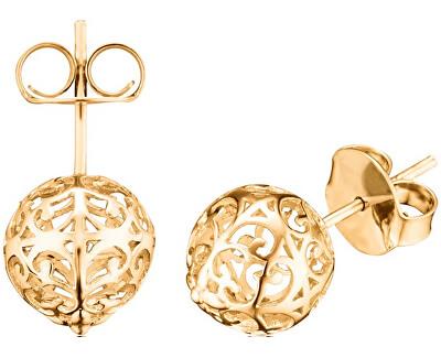 Pozlacené stříbrné náušnice Andělské zvonky ERE-ER1-STG