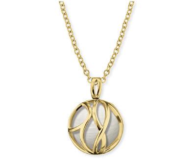 Pozlacený stříbrný náhrdelník Andělský zvonek ERN-LILPARADISE-PE-G