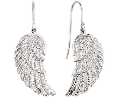 Stříbrné náušnice Andělské křídlo ERE-WING