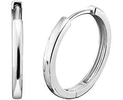 Stříbrné náušnice kruhy Lisa ERE-LISA-CR