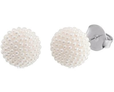 Stříbrné náušnice s perlami ERE-SPE-ST-L