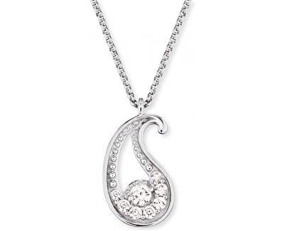 Stříbrný náhrdelník Minibalance se zirkony ERN-LILBAL-ZI
