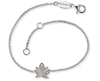 Stříbrný náramek s lotosovým květem ERB-LILLOTUS-ZI