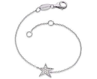 Stříbrný náramek Hvězda se zirkony ERB-LILSTAR-ZI
